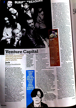 'Pioneer soundtracks' is the subject of Mojo magazine's